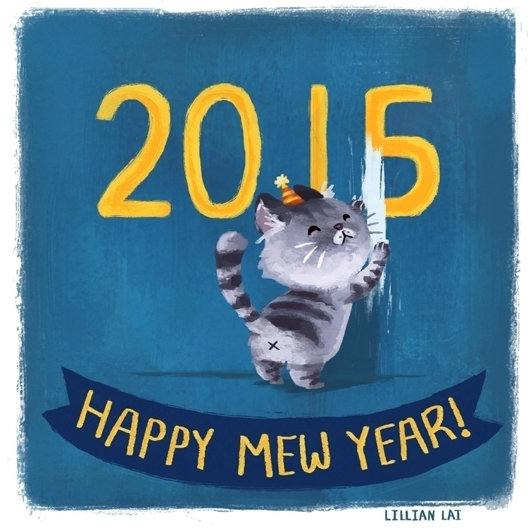 happynewyear - lillisketch | ello