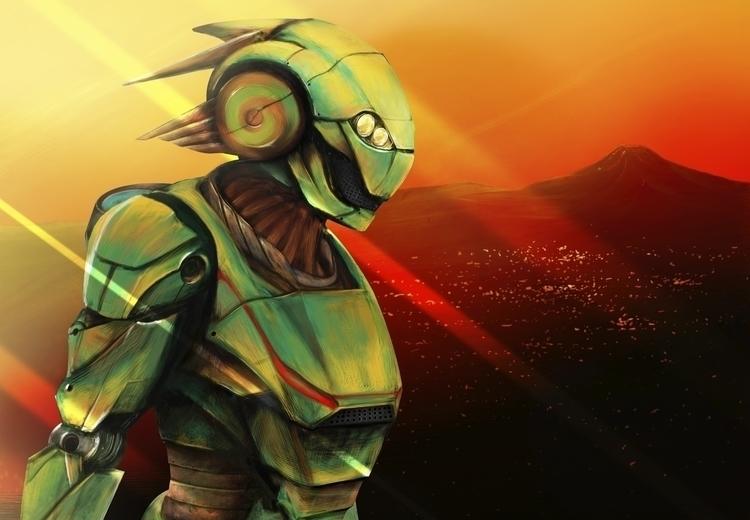 Return Quetzalcoatl - illustration - pedrobarrera | ello