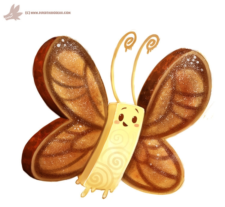 Daily Paint Butter-Fly - 1137. - piperthibodeau | ello