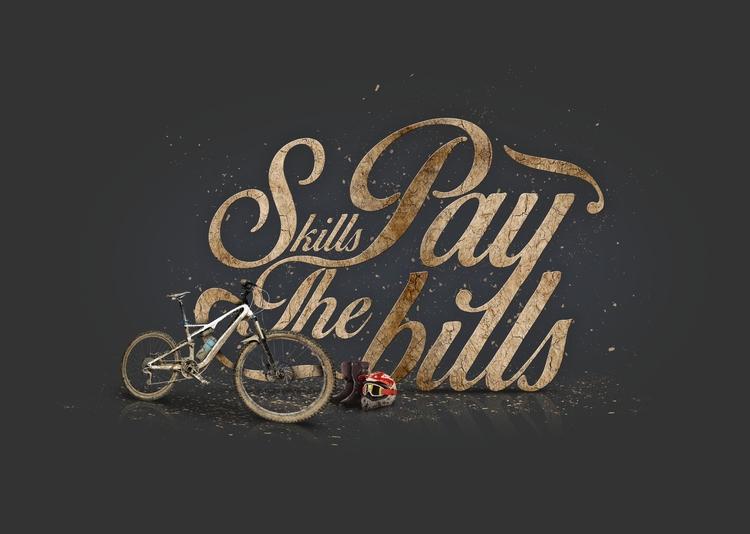 Skills Pay Bills - skills, bike - nuff666 | ello
