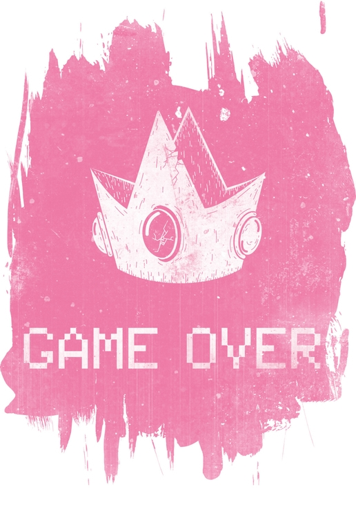 Game Princess - princesspeach, pink - keganrivers | ello