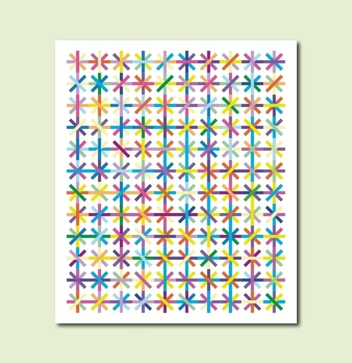 Crystallise - design, pattern, graphicdesign - antony-1227 | ello
