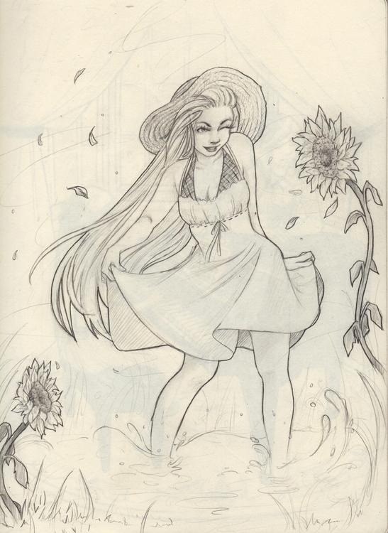 Summer Flowers - summer, flowers - shanalikeanna | ello