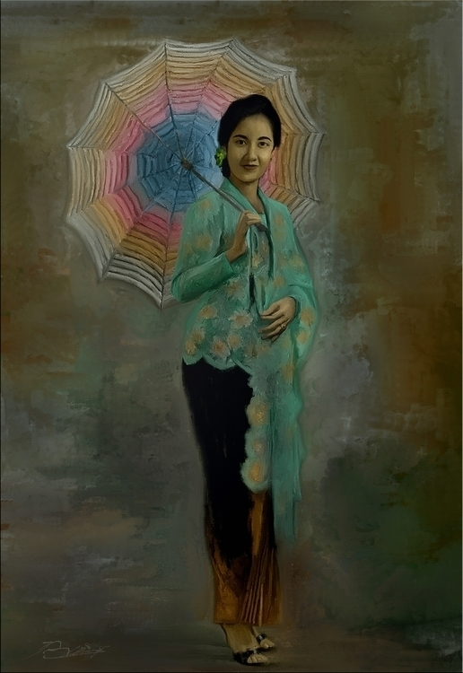 Indonesian girl 1957 - illustration - s2prambudi | ello