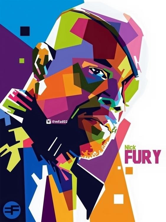 Nick Fury WPAP - avengers, nickfury - phazeva02 | ello