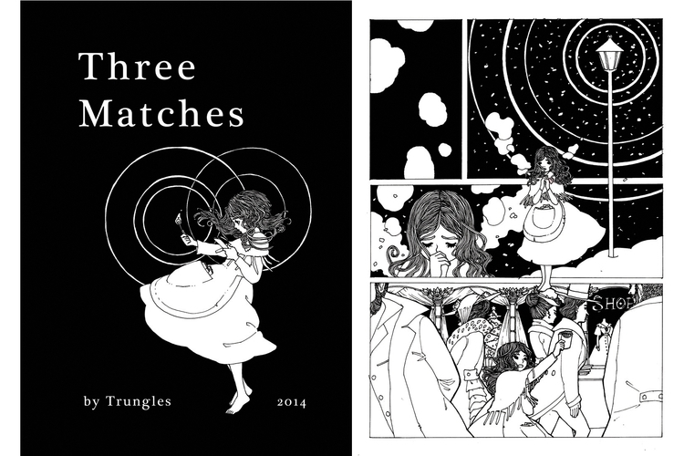 thelittlematchgirl, threematches - trungles | ello