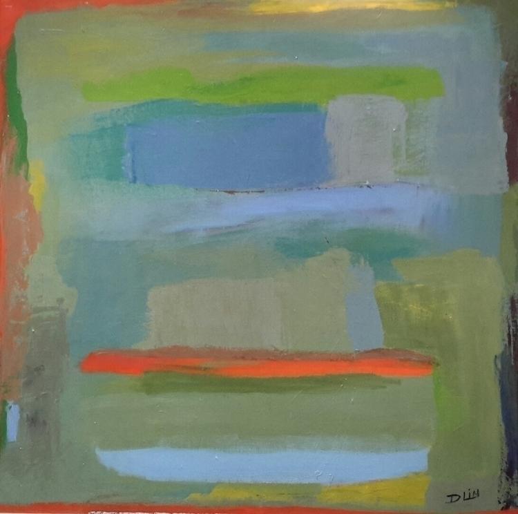 Inspiration Rothko dam - Landscape - dawnlim | ello