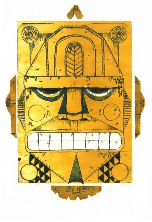 totem, monotype - miltoms | ello