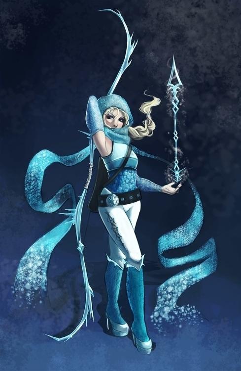Elsa-Fantasy Archer - elsa, queenelsa - shanalikeanna | ello