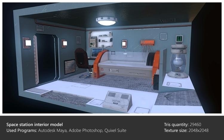 Interior model - interior, 3dart - ghostb   ello
