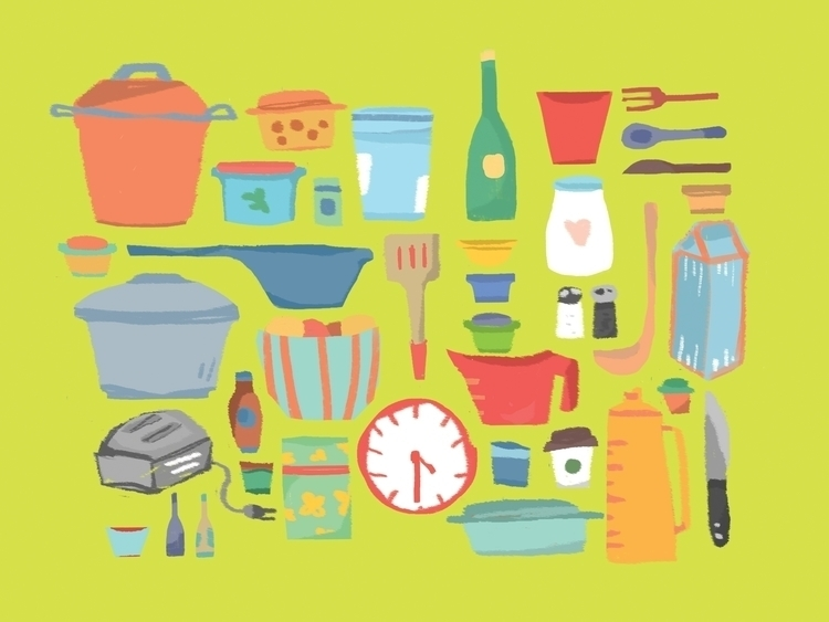 kitchen - graphic - llyvn | ello