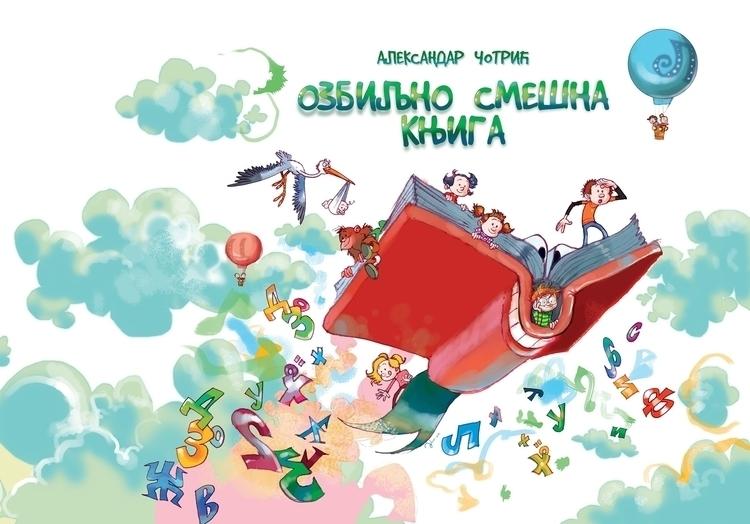 funny book - illustration, drawing - tiho-3213 | ello