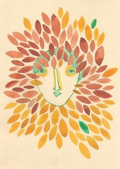 Family tree IV - watercolor - msarte | ello