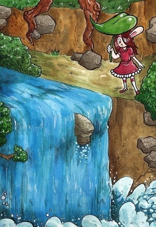 Watercolor Illustration - illustration - ariannafahrenkamp | ello