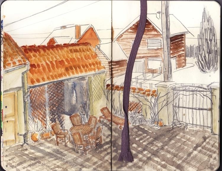 sketch - illustration, drawing, pencil - sarahherlant | ello