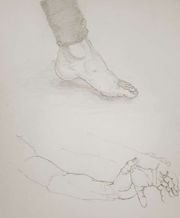 Ballet dancer sketch - 2dart, study - ghostb | ello