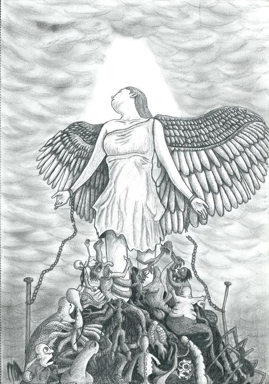 Emancipation - illustration, drawing - dejvidknezevic | ello