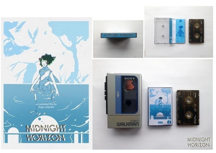 illustration, music, tape, Sony - jjscottillustration | ello