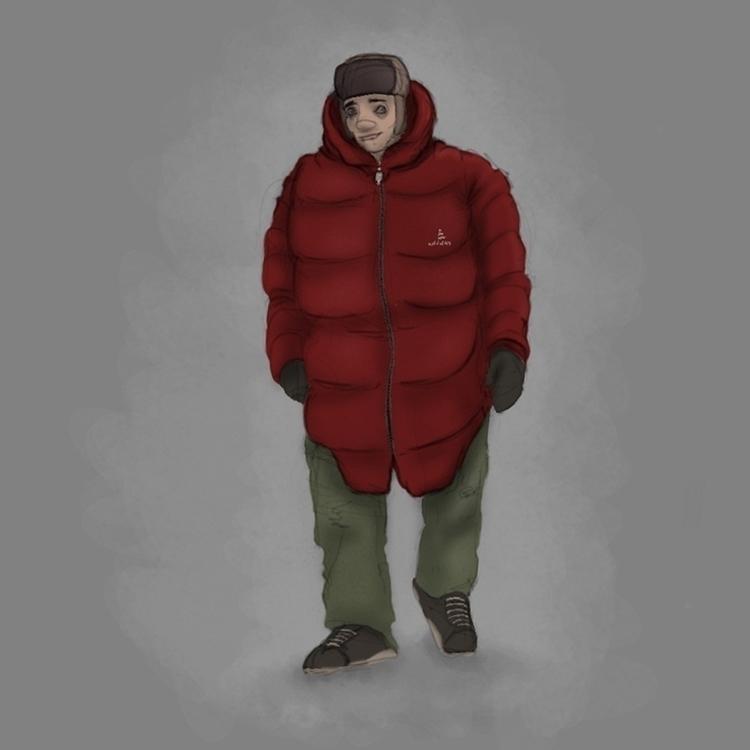 Winter stroll - winter, walking - ghostb | ello