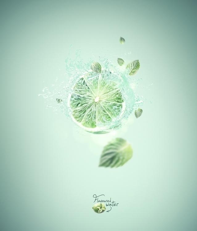 Flavoured Water - illustration#digitalart#design#characterdesign#photoshop#painting#davisvrworks#drawing#conceptart - kevinroodhorst | ello