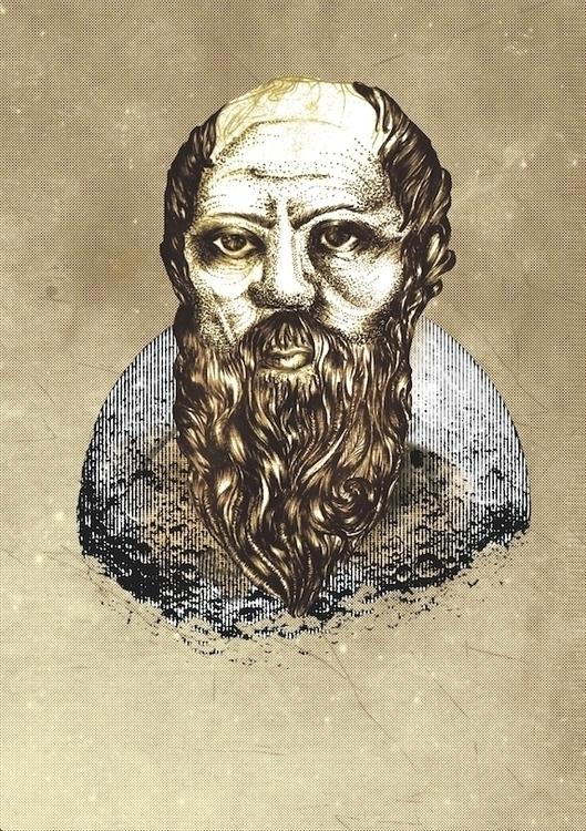 Socrates - illustration, socrates - ibtisam | ello