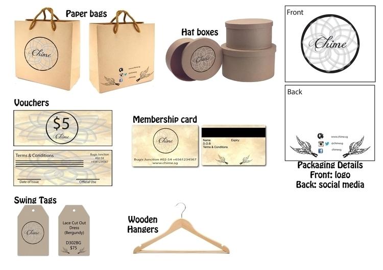Chime packaging branding design - syairahkimmy | ello