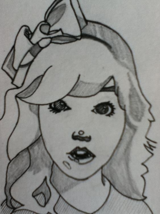 Lara - illustration - lhyillustration | ello