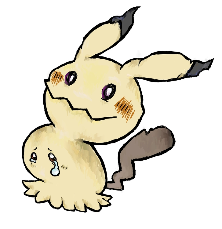 Mimikyu - digitalart, pokemon, illustration - rabbott-8438 | ello