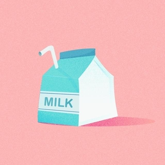 Food Icon 7 milk - food, art, icon - clesternov | ello