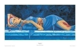 Death 2 poster - death, woman, anatomy - maryann-6495 | ello
