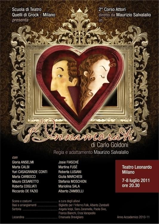 Poster theatrical performance - illustration - multitaskingirl | ello