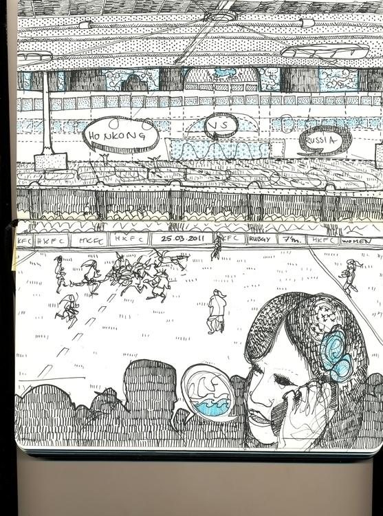 Rubgy Game HongKong ~ Females f - fmb-3127 | ello