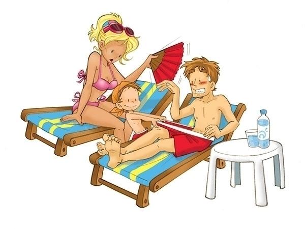 Illustration charity calendar - illustration - multitaskingirl | ello