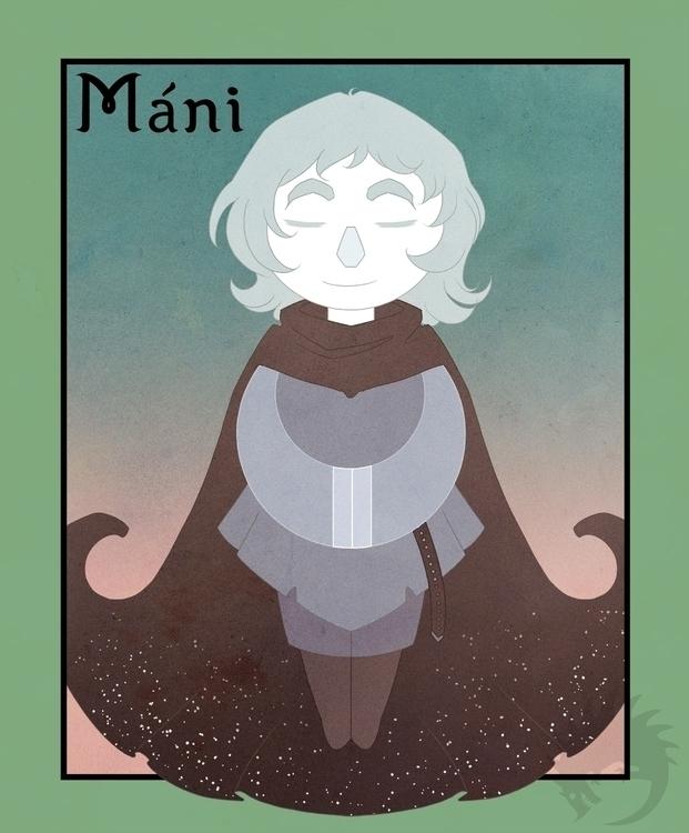 Mani Monday - illustration, characterdesign - reach-5958 | ello