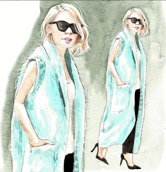 Street Style - fashionillustration - cpicheco | ello