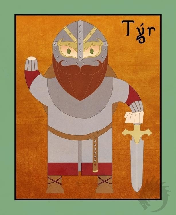 Tyr Tuesday - illustration, characterdesign - reach-5958 | ello