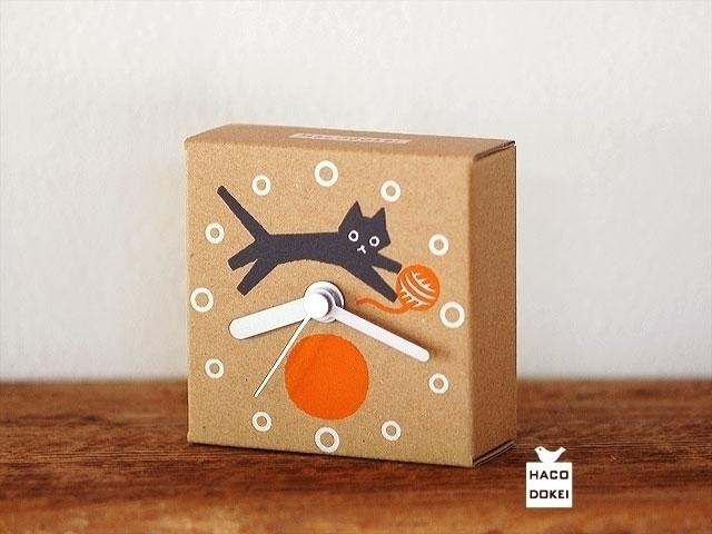 small handmade clock corrugated - guraguri | ello