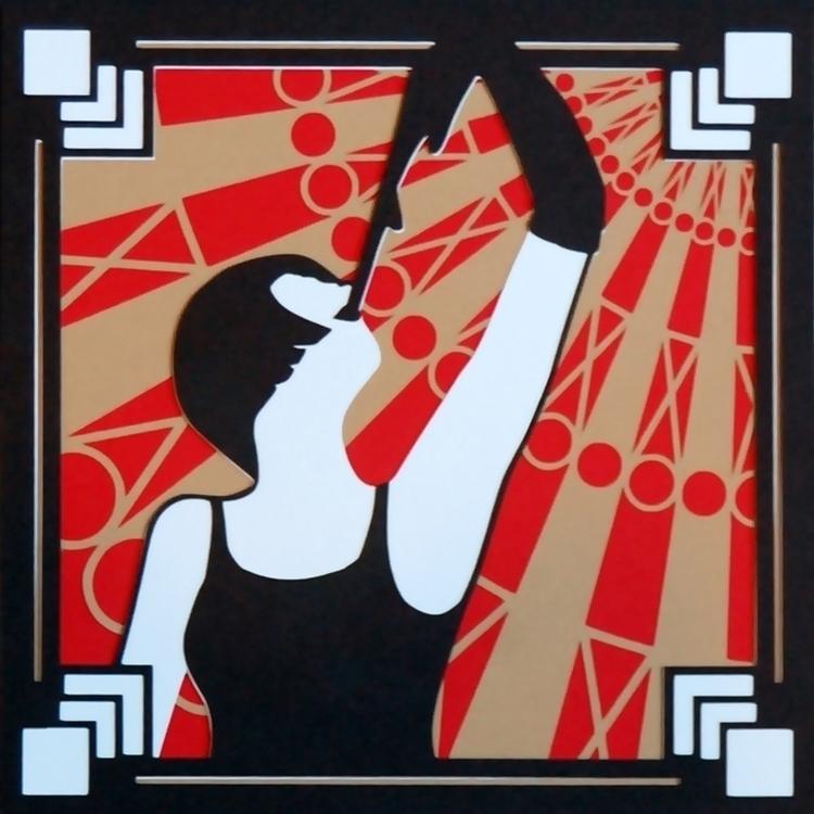 Gretchen Tice - burlesque, papercut - brittcoxon-9543 | ello