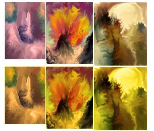 Worlds - painting, digitalart - cellusious | ello
