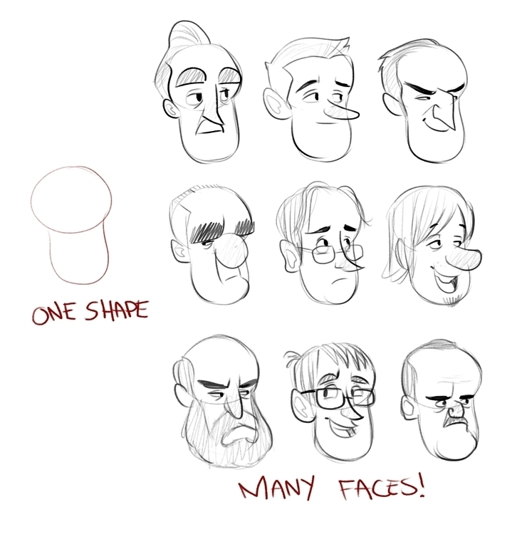 quick exercise shape faces  - luigil-2352 | ello
