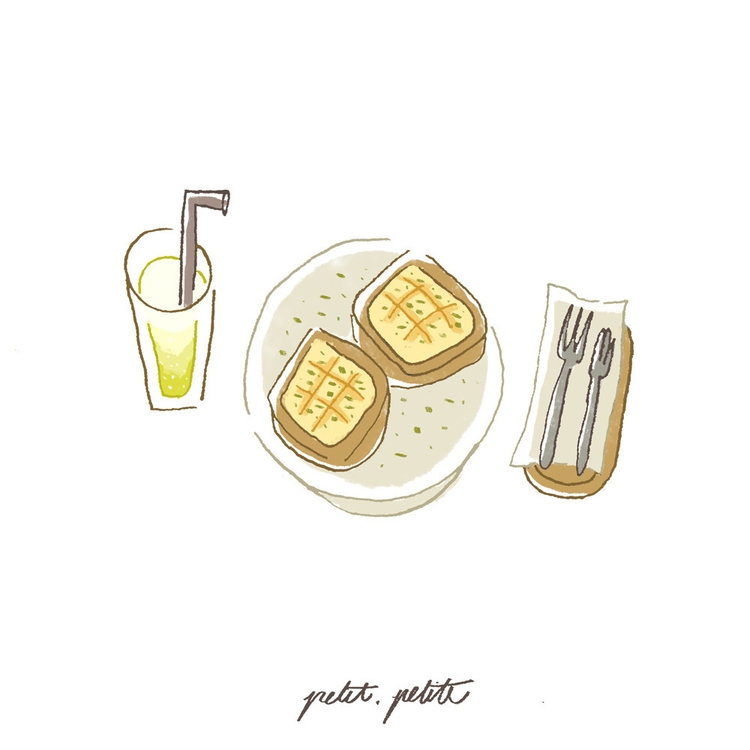 Fresh garlic breads Italian sod - petitpetite | ello