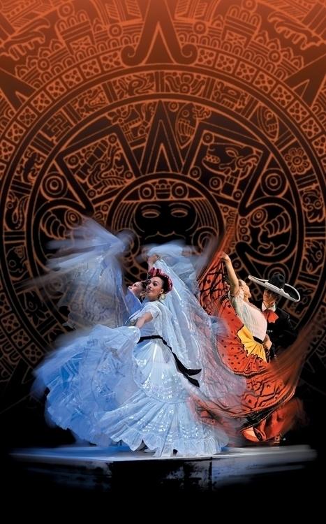 Mexican ballet. Details - balletfolkloricodemexico - emilioartist | ello