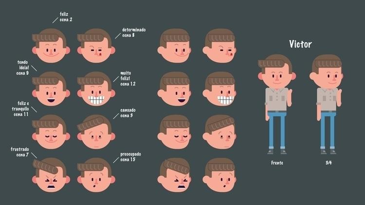 Character Design - Expression - illustration - marmotavsmilky   ello