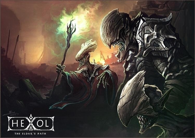 2015 Darklings - illustration, painting - yarongranotart | ello