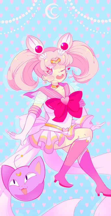 super sailor chibimoon - sailormoon - princessmisery | ello