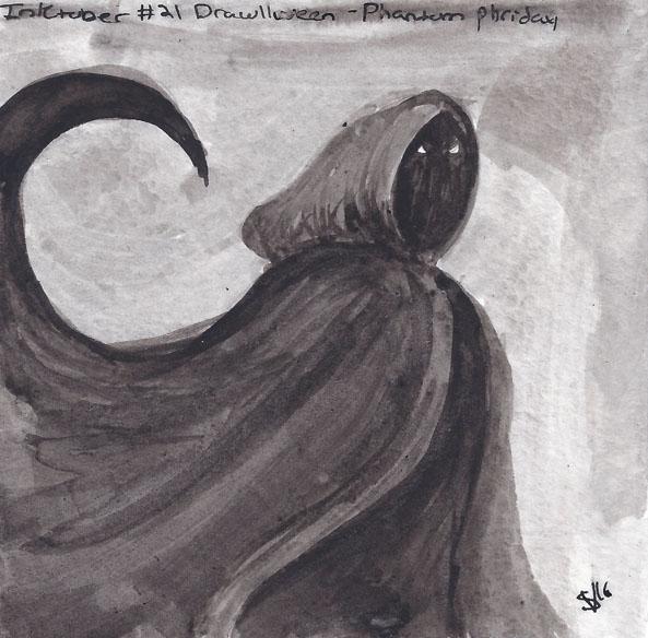 Drawlloween2016 - Phantom Phrid - svaeth | ello