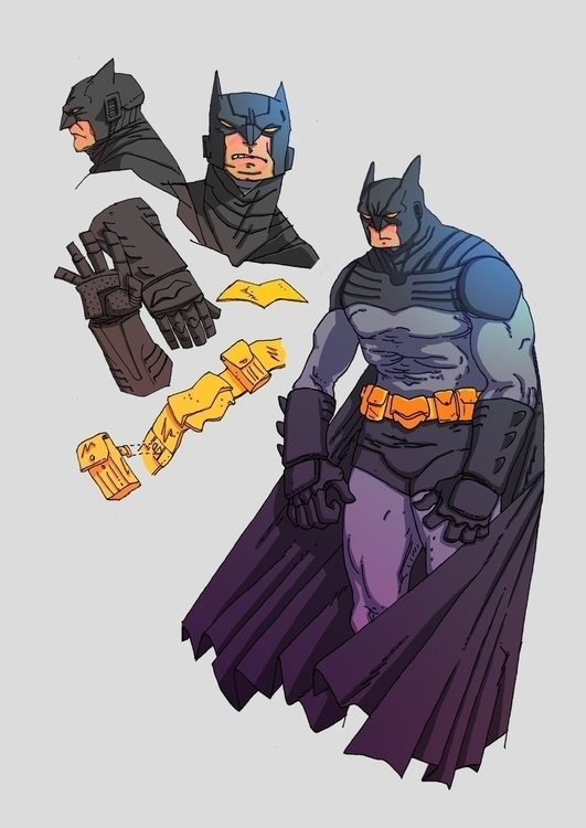 batman, sketch - christiansuarez | ello