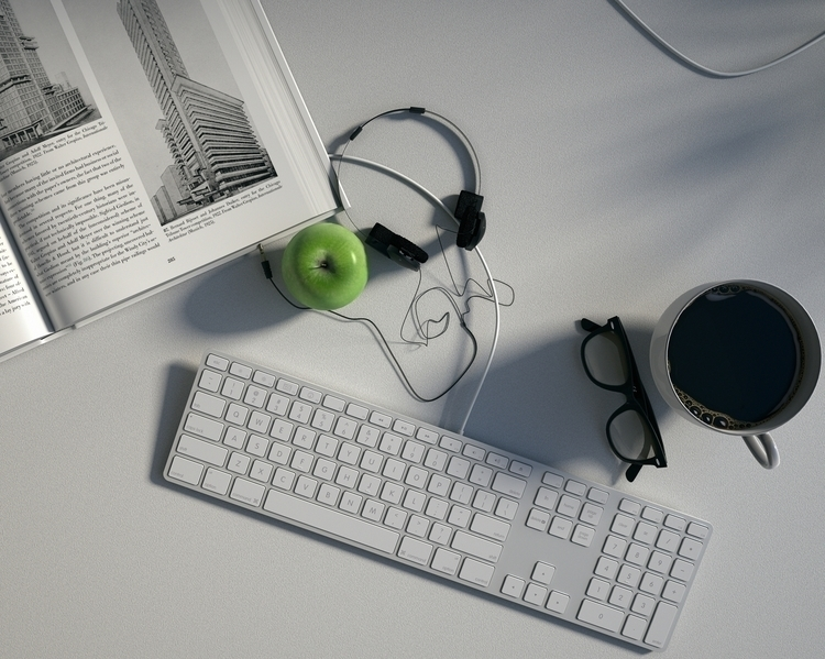 apple day doctor - 3d, 3dsmax, 3dart - andreasb-9954 | ello