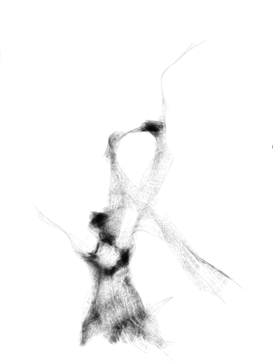 Danseuse (BW - dance, dancer, ballet - samsoukas | ello