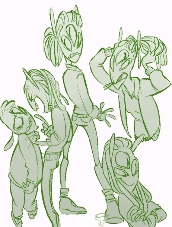 aliem - alien, aliengirls - slunchy | ello